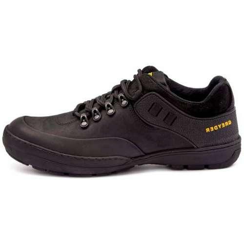 Greyder 00671 Siyah Deri Günlük Comfort Ayakkabı Aynı Gün Ücretsiz Kargo