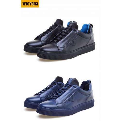Greyder 66083 Casual Yeni Sezon Hakiki Deri Kışlık Erkek Spor Ayakkabı